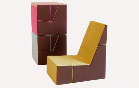 The Cubit Chair for Kids! by Tolleson + Saul - 3rings
