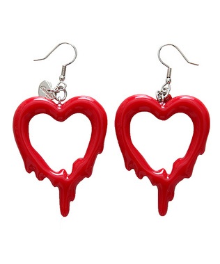 Candy Stripper ONLINE SHOP | DORO DORO HEART PIERCE | RED
