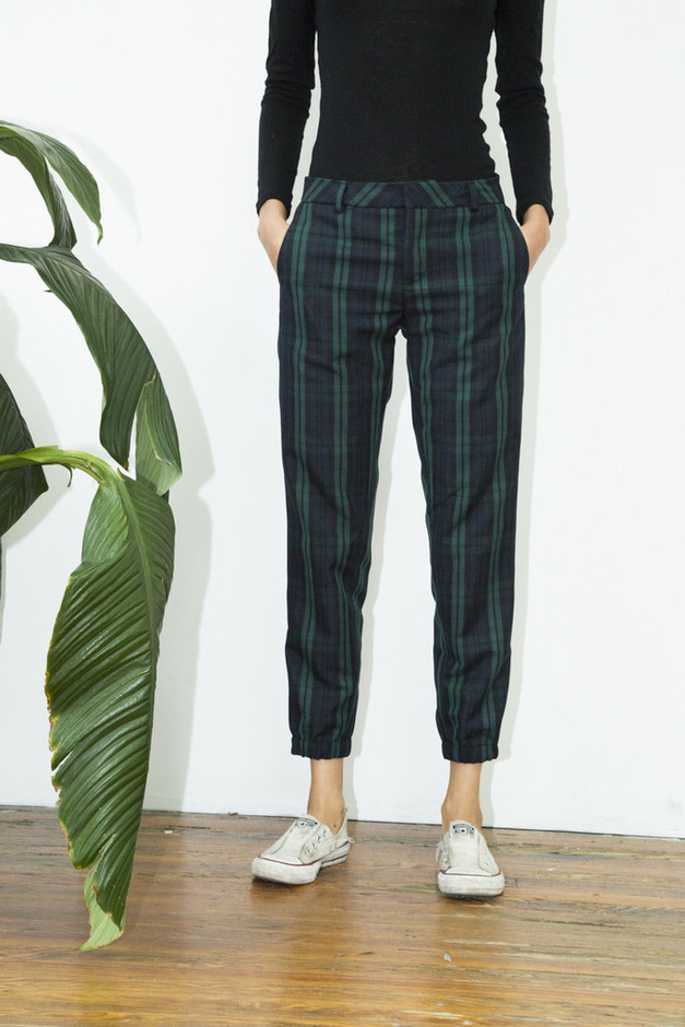 Crop Plaid Pant – Assembly New York