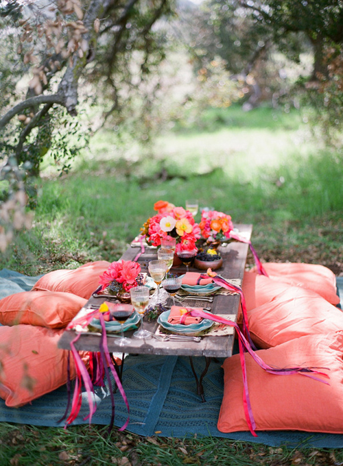 outdoor dining | the style files