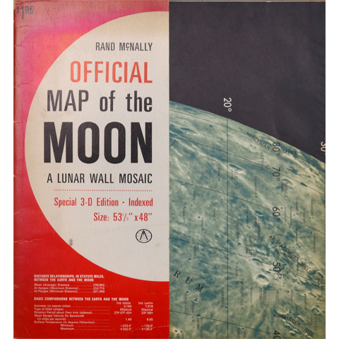 RAND McNALLY OFFICIAL MAP of the MOON|恵文社一乗寺店