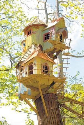 everything nice / tree house!   We Heart It