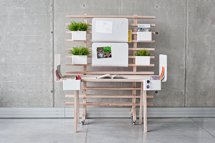 1: WorkNest | A Customizable Desk System That Tames Creative Chaos | Co.Design: business + innovation + design