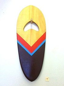 Hand Plane 2 - Shaped by Danny Hess - Painted by Jeff Canham - GREENROOM HAWAII