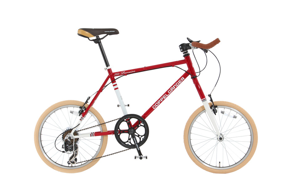 DOPPELGANGER®[ドッペルギャンガー]自転車ブランド Product page 260-GR / 260-RD / 260-GY - Parceiro