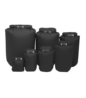 Exped Fold Dry Bag Black from Facewest.co.uk