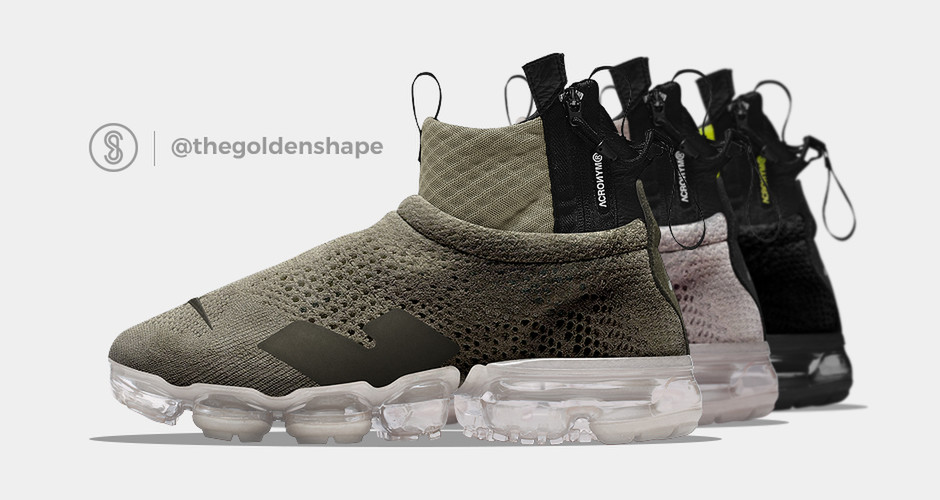 Acronym x Nike Air VaporMax Flyknit Moc Pack - The Golden Shape