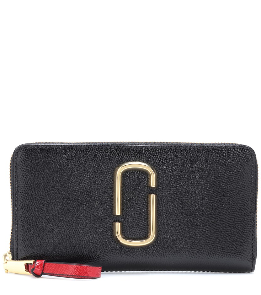 Marc Jacobs - Snapshot leather wallet | mytheresa.com