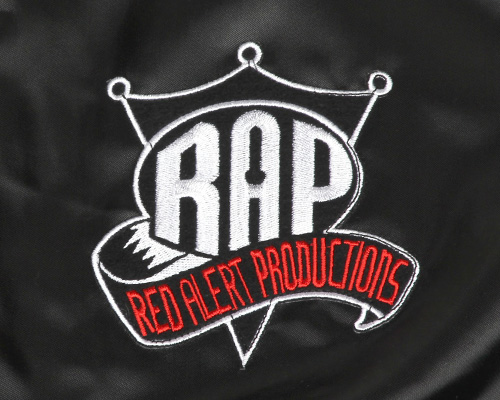 BBP ONLINE STORE - Red Alert Productions x BBP Satin Jacket