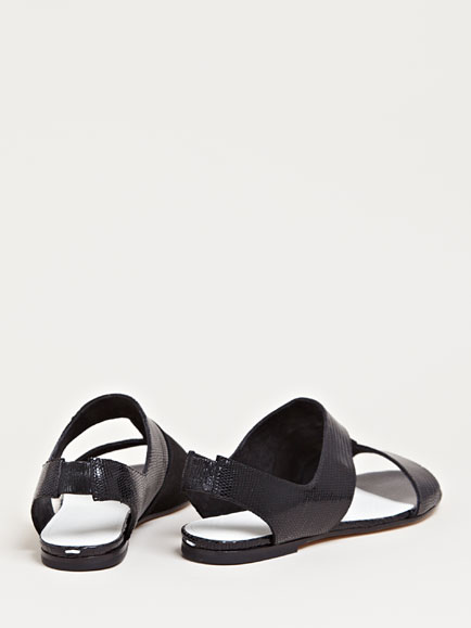 Maison Martin Margiela Women's Contrast Panel Sandals | LN-CC