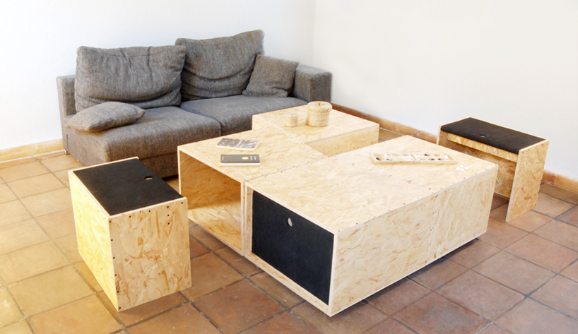 4+4 Coffee Table Design by Kutarq - Furniture Design Blog - Furniture Design Ideas | Furniii
