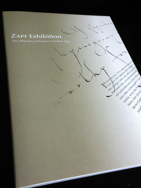 Zapf Exhibition Catalog | Flickr - Photo Sharing!