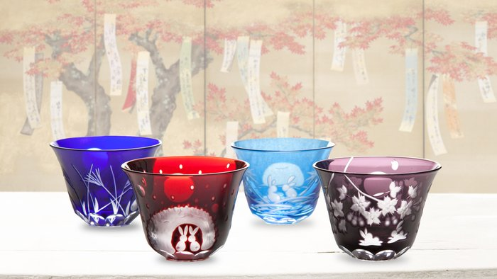 AHAlife : A Toast to Beautiful Sake Glasses