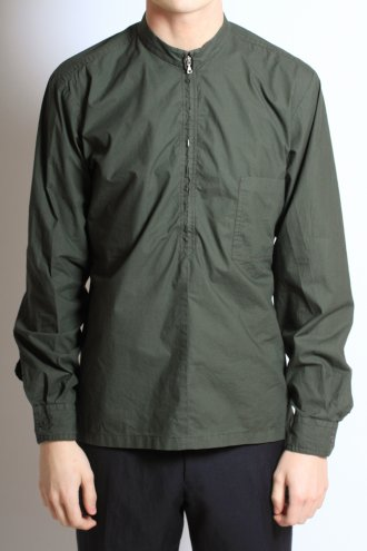 Shop Dries Van Noten Men's 'Curtiss' Shirt in Bottle Green at Autograph Menswear
