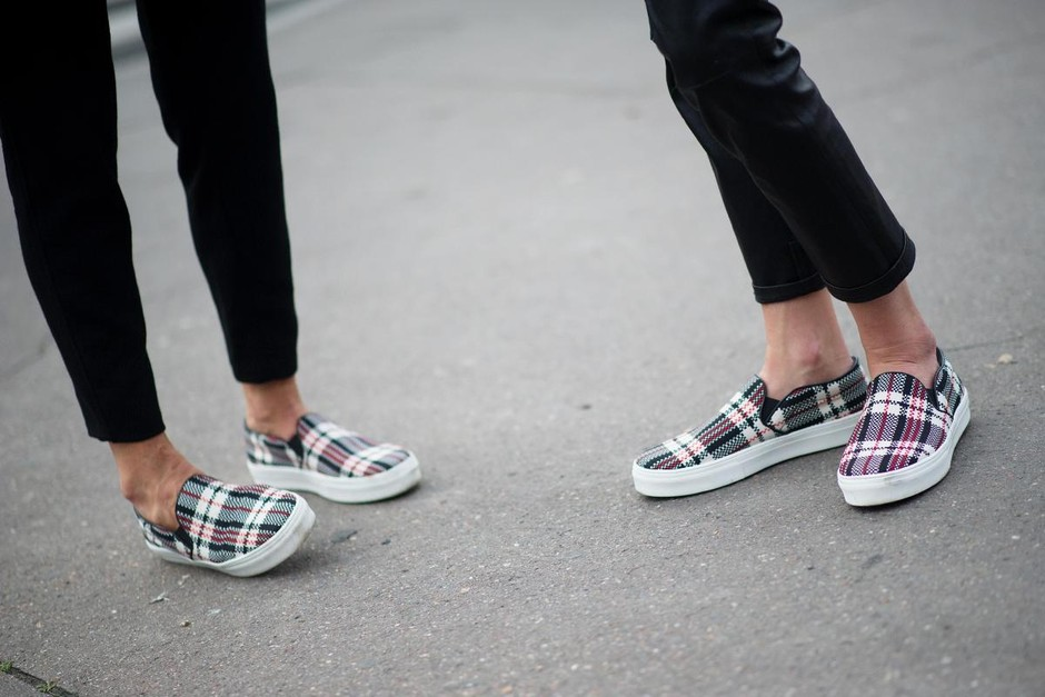 Céline slip-ons - The 50 Best Street-Style Shoes From Spring 2014 - The Cut