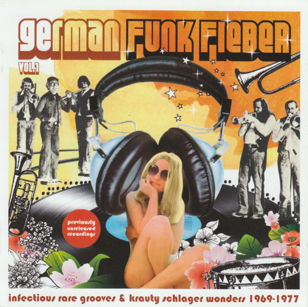 Images for Various - German Funk Fieber Vol.1 - Infectious Rare Grooves & Krauty Schlager Wonders 1969-1977