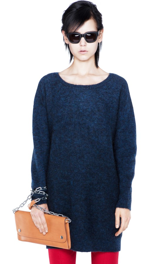 Wham Mohair Navy Shop Ready to Wear, Accessories, Shoes and Denim for Men and Women