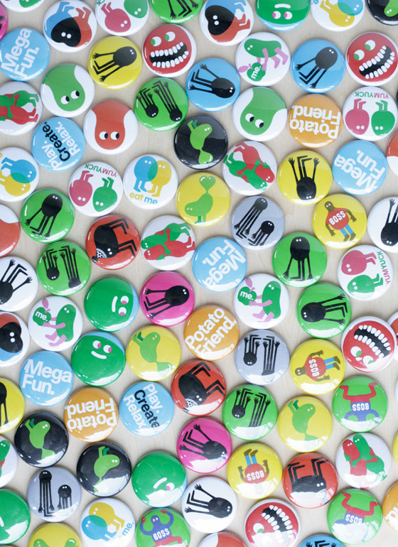 Pin Badges (缶バッジ) by Genevieve Gauckler | Publik:
