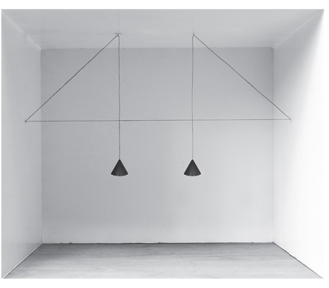String Lights by Michael Anastassiades for Flos at Euroluce in Milan