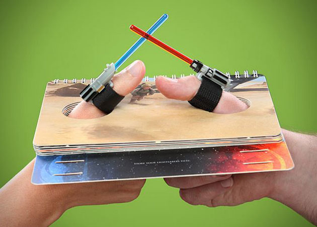 Star Wars Lightsaber Thumb Wresting Which thumb... | TieFighters