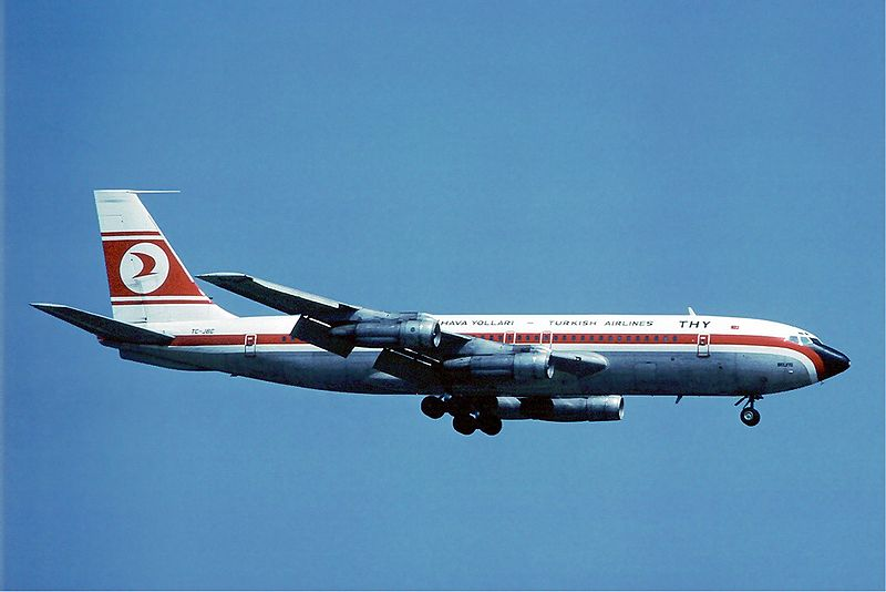 File:Turkish Airlines Boeing 707 at Zurich - April 1976.jpg - Wikipedia, the free encyclopedia