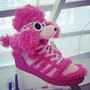 "Jeremy Scott x adidas Originals ""Pink Poodle"" 