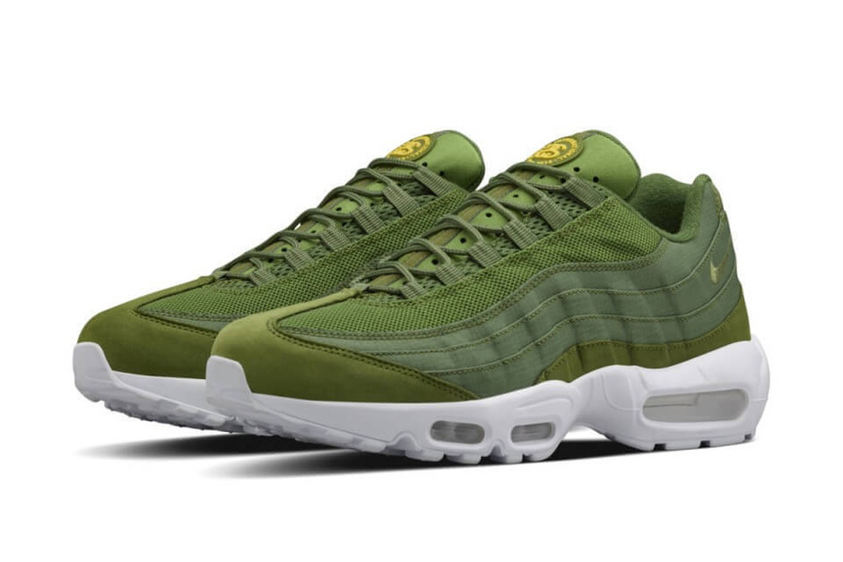 Stussy x Nike Air Max 95 Green | The Sole Supplier