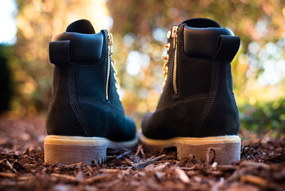 """Stussy x Timberland 6 Inch Boot """"Black"""" (Detailed Photos)"""