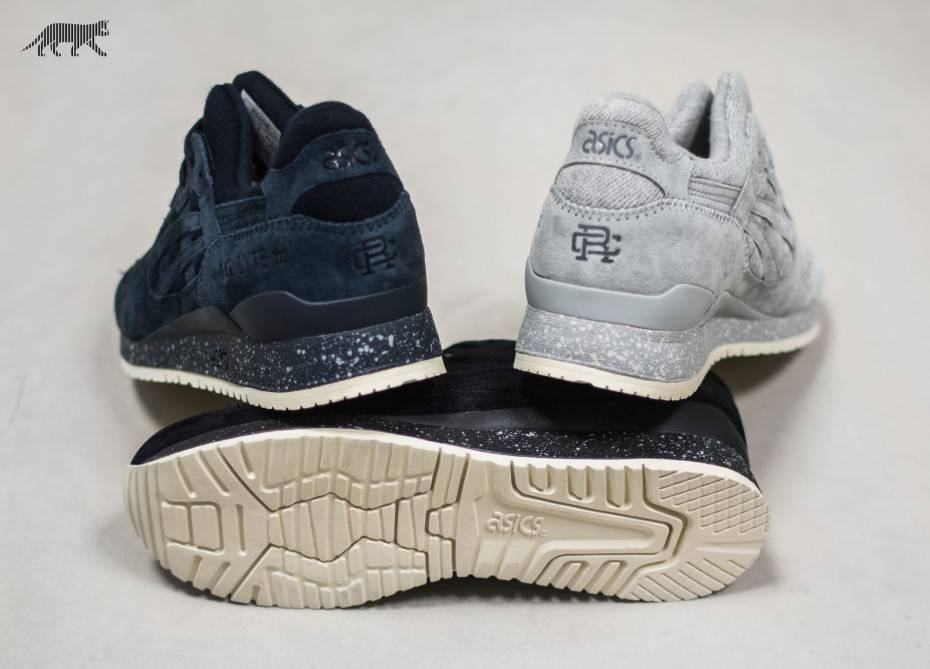 Asics x Reigning Champ Gel-Lyte III (Grey / Grey) - Coming Soon - Sneaker | asphaltgold