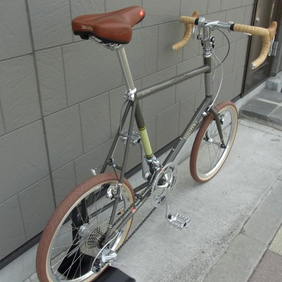 bruno・minivelo 20 road・(gray) - Bicycle&Outdoor illumination