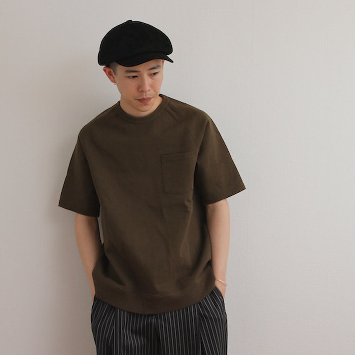 "【楽天市場】FLISTFIA (フリストフィア) Short Sleeve Sweat ""Dark Olive"":OWEBSTORER"