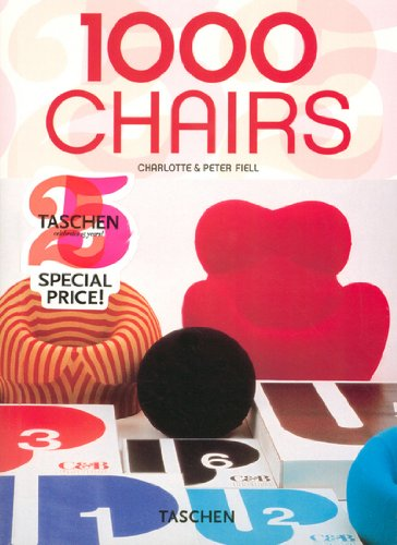 1000 Chairs (Taschen 25) (English, German and French Edition): Charlotte Fiell: 9783822841037: Amazon.com: Books
