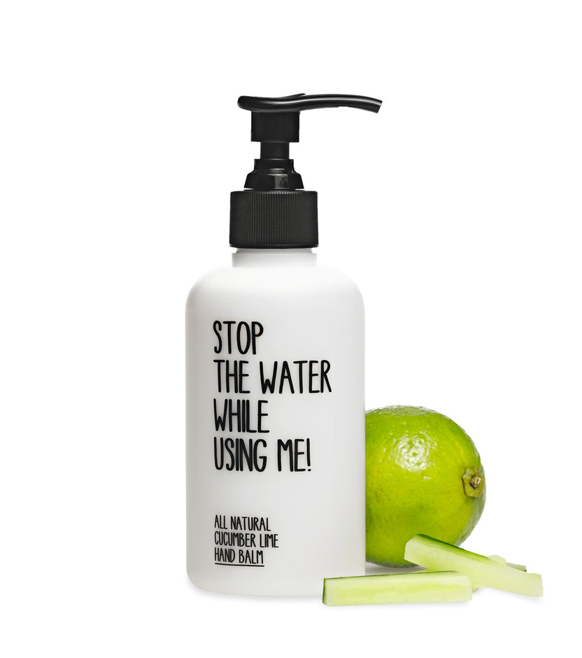 - Stop The Water While Using Me! - Cucumber lime hand balm 200ml