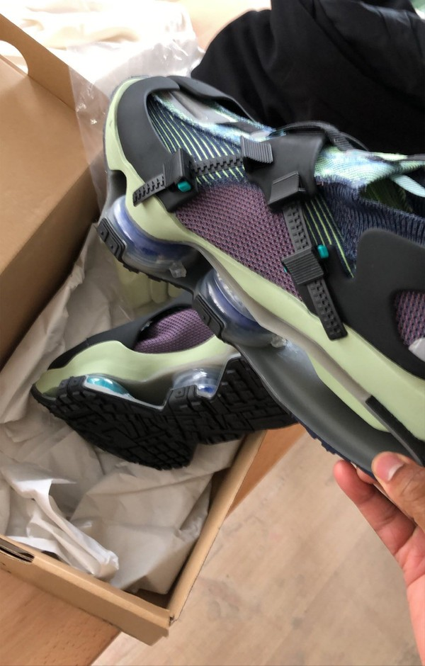 Samuel Ross Reveals New Nike ISPA Road Warrior in Purple, Black and Green Glow - HOUSE OF HEAT | Sneaker News, Release Dates and Features
