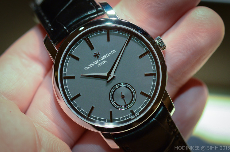 Hands-On With The Vacheron Constantin Patrimony Traditionnelle In Platinum With A Grey Dial (Live Pics) — HODINKEE - Wristwatch News, Reviews, & Original Stories