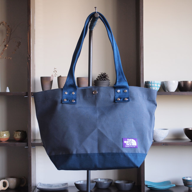 THE NORTH FACE PURPLE LABEL - Tote Bag M #navy×navy