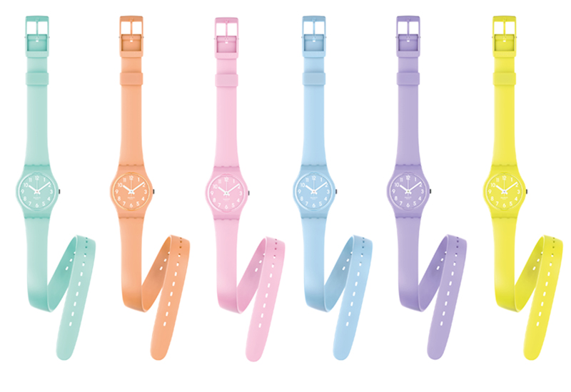 DesignApplause | Double tour watch. Swatch.