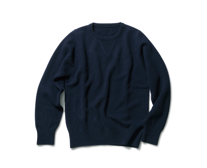 SOPHNET. | PRODUCT | LAMBS WOOL CREW NECK KNIT