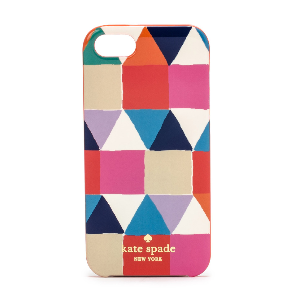 kate spade new york / resin iphone case pueblo tile 5
