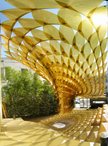 The shadow structures by Ball-Nogues Studio @ Dailytonic