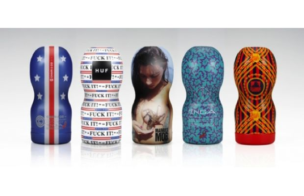"Tenga Collaborates With Streetwear Brands for the 2012 ""Respect Yourself"" Project 