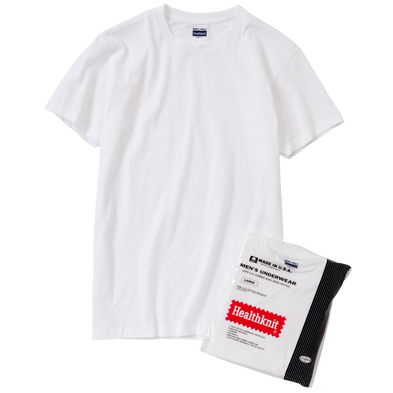 HEALTH KNIT FOR UNIVERSAL PRODUCTS 2-PACK T-SHIRTS[WHITE] - 1LDK|ONLINE STORE