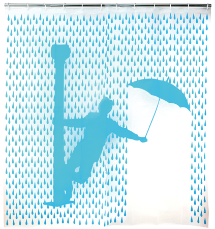 A Turquoise Shower Curtain to Sing About | Beauty Bets