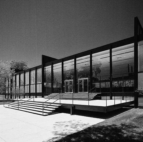 AD Classics: IIT Master Plan and Buildings / Mies van der Rohe | ArchDaily