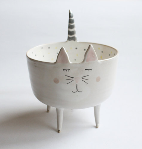 Adorable Animal Handmade Ceramics by Clay Opera - My Modern Metropolis
