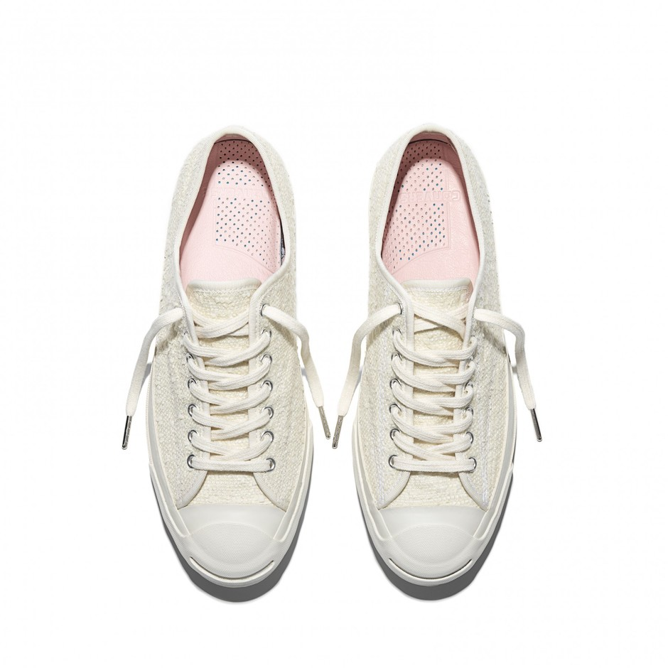 014bab2fae53 Converse First String Jack Purcell Signature OX x Bunney (White) ...