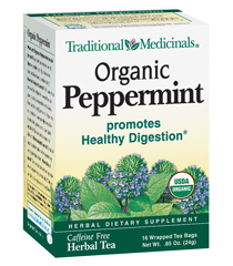 Organic Peppermint :: Traditional Medicinals :: Digestive Products