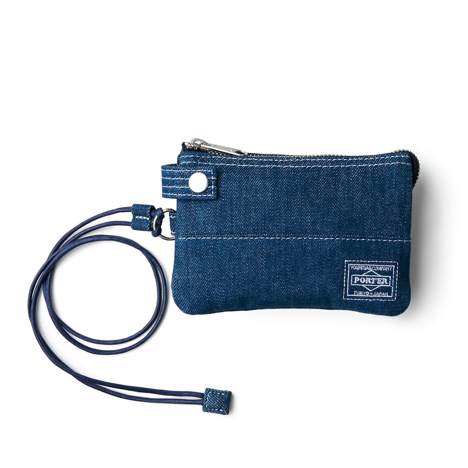 ZIP WALLET|DENIM|HEAD PORTER ONLINE|ヘッド ポーター オンライン