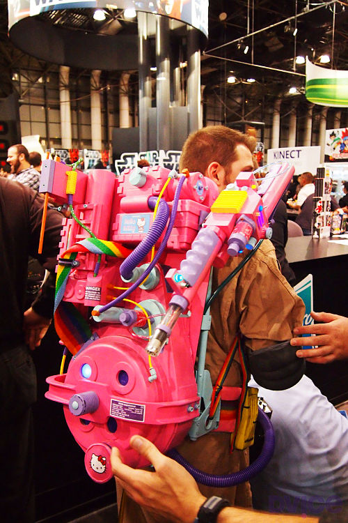 Hello Kitty Ghostbusters Proton Pack - UniqueDaily.com