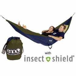 ENO DoubleNest Hammock with Insect Shield | SALE |